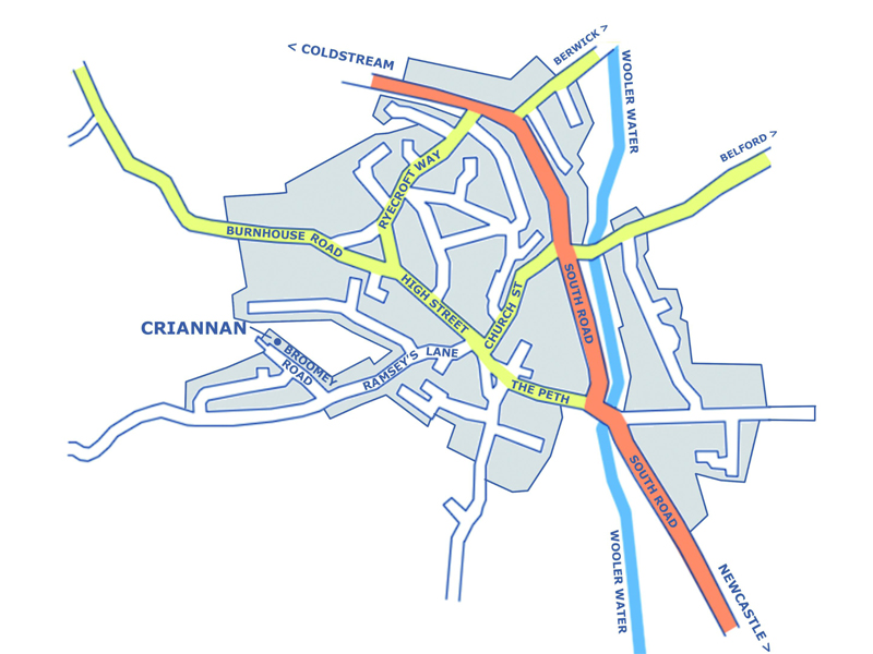 criannan location map